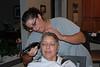 Sandy just kept shaving.....very, very carefully.