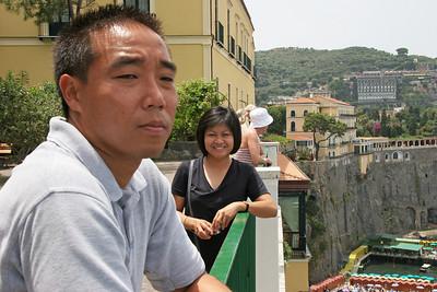 Mediterranean'07 amalfi david:jerry