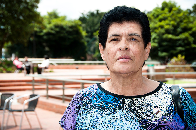 """Everyone deserved to be awarded because they are all heroes,"" recognized members of the international jury of experts from Colombia, the Americas and Europe.  Flor Munera was one of those nominated for the ""Lifetime achievement"" award.  She has been a member of the NGO Committee in Solidarity with Political Prisoners since 1980.  Flor's humanitarian support for detained men and women has permitted them to maintain their dignity and hope."