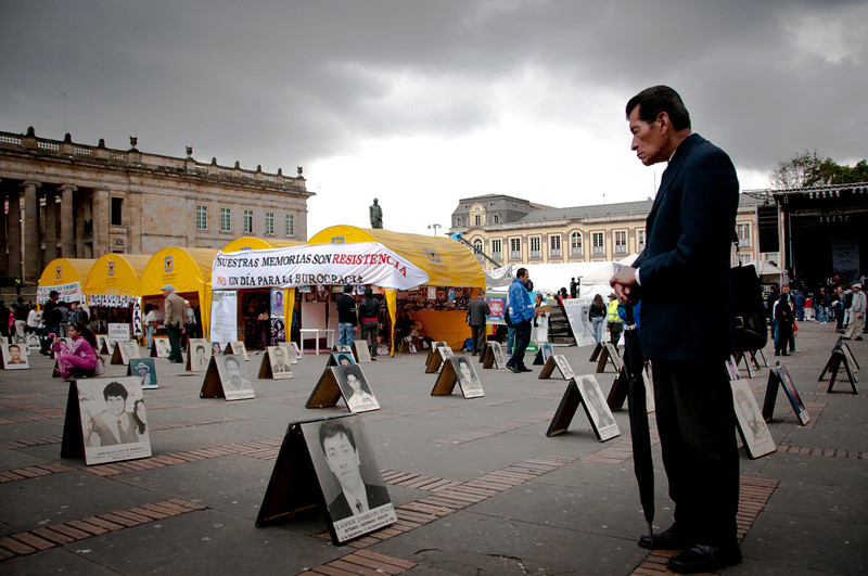 As of July 2011, the Prosecutor General´s office had registered more than 16,000 cases of disappearances in Colombia.<br /> Photograph: PBI Colombia