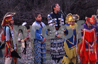 Nisqually Tribe dancers group 4