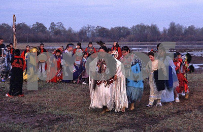 Nisqually Tribe dancers group 2