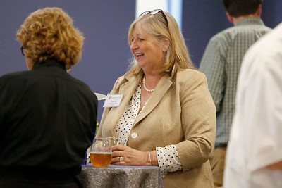 Merrimack College, New Faculty Reception.  August 21, 2018. Photo by Mary Schwalm