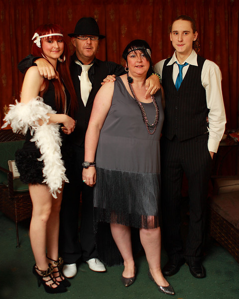 Robyn, John, Andrea and Robin