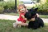 Nikita Kleyner of Potomac and her dog, Dr. Fleming