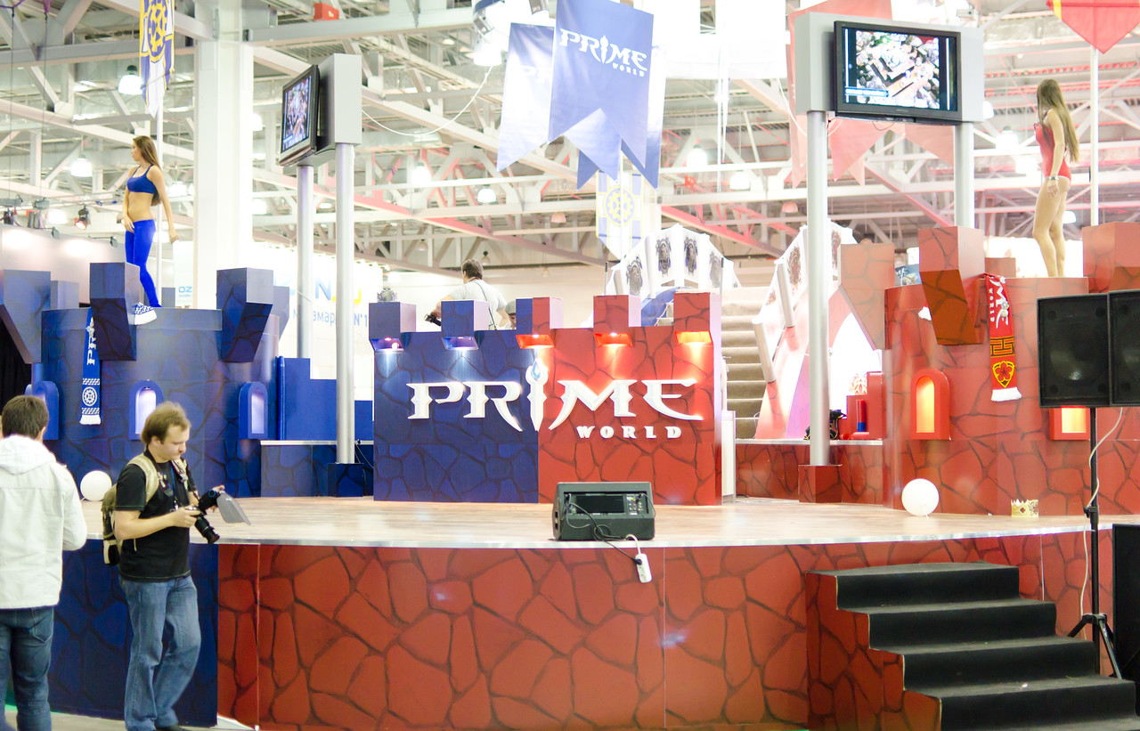 Prime World booth at Igromir 2011