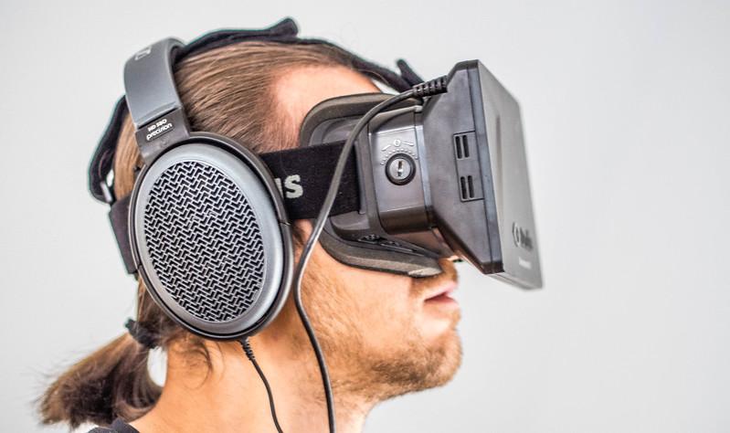 Igor Stepanov and Oculus Rift