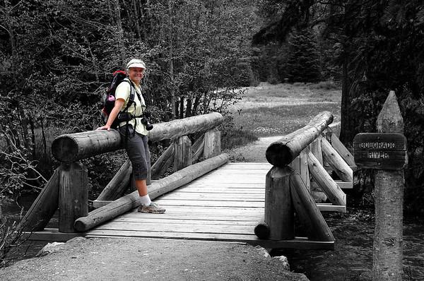 source du Colorado (encore tout petit) 22 juin 2008