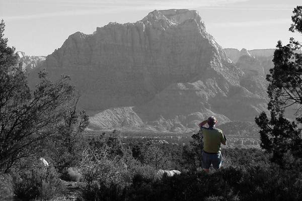 10 06 2008 Smithsonian Butte, vue sur Zion