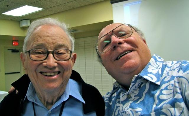 Glen with Bob.