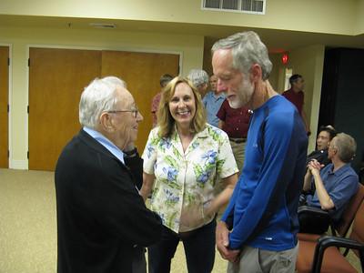 Glen Dawson, Sara Danta (SPS Sierra Echo editor) and Ron Hudson.