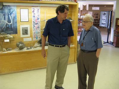 Glen with museum director, Jon Klusmire
