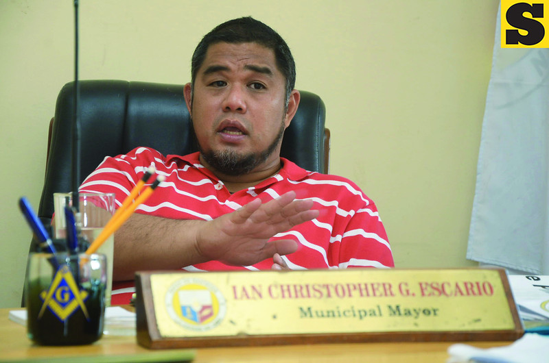 Mayor Ian Christopher Escario of Bantayan