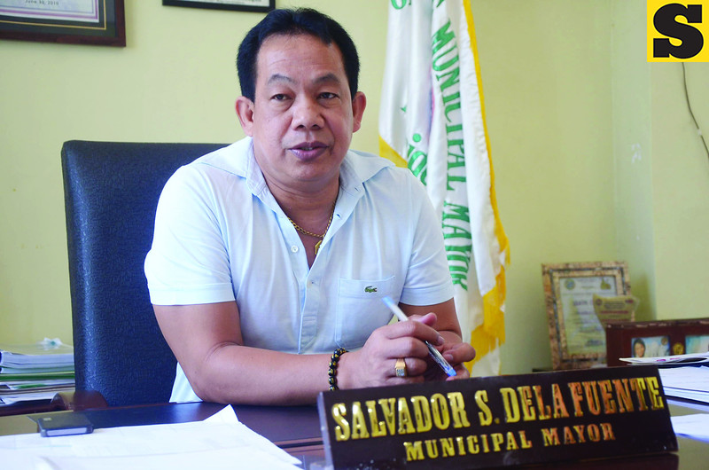 Mayor Salvador dela Fuente of Madridejos, Bantayan Island