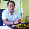 Mayor Salvador dela Fuente of Madridejos, Bantayan Island