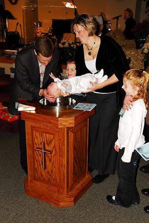 November 2008 Joseph's Baptism