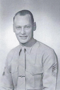 Wilbur (Corky) Chambers who served in WWII, Korea, and Vietnam wars