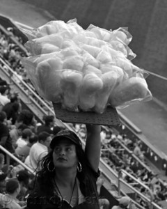 cotton candy vendor yankee stadium
