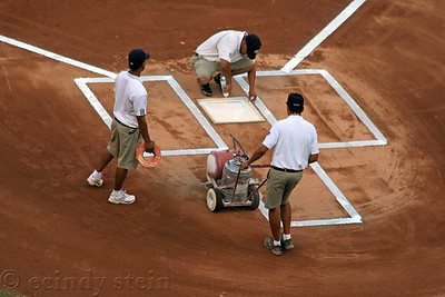 base and lines crew yankee stadium