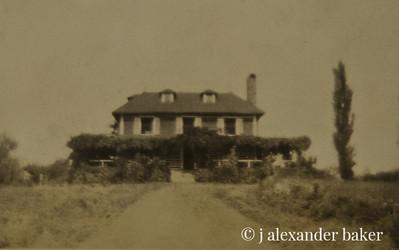Uncle Paul Noel's cabin.
