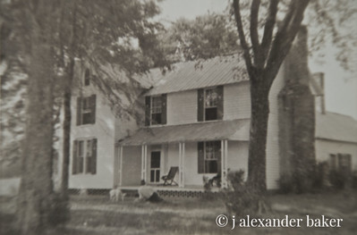 My Grandmother's birthplace, now owned by my cousin, Pam.