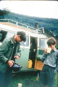 Wye Valley, 1965: Jon and Hugh