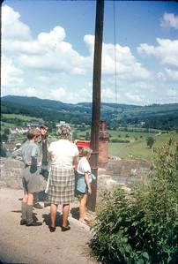 Wye Valley, 1965: Hugh, Jon, Mama, Sara