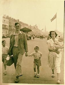 Pete, Papa, Jon, Mama and Hugh. Weymouth?