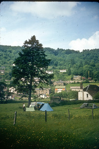 Wye Valley, 1965: Papa and encampment