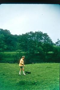Wye Valley, 1965:Sara and Black Dog