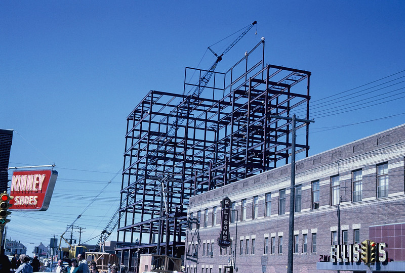 Construction of Minot Federal building in Minot, ND
