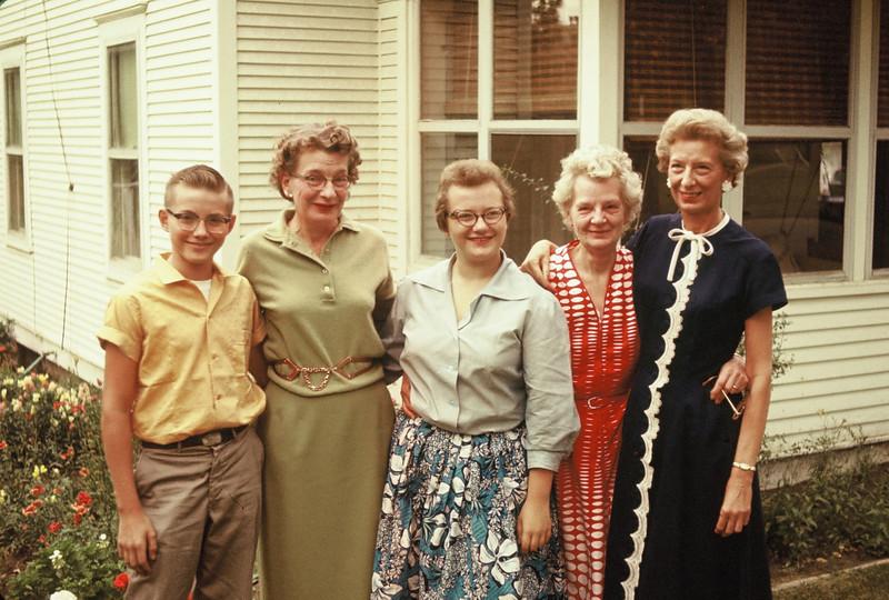 Bob Williams, Doris Williams, Pat Williams, Anna Doebler, Dell Clarke