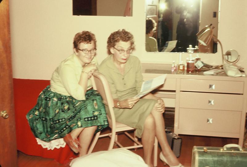 Pat and Doris Williams in Ceres Hall, NDSU