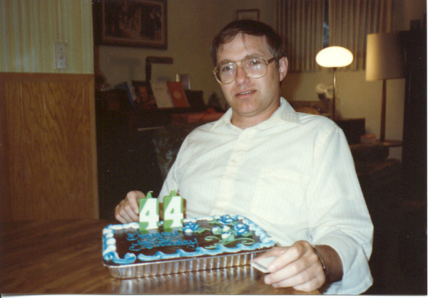 1990 - Bob birthday