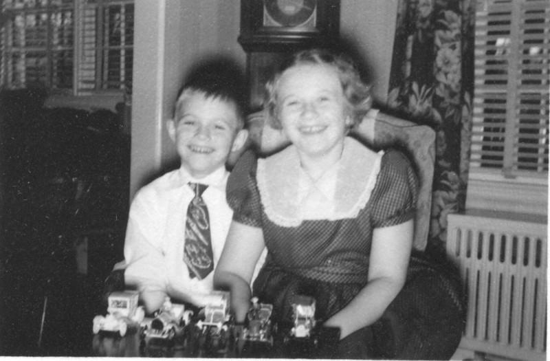 1953 - Christmas photo