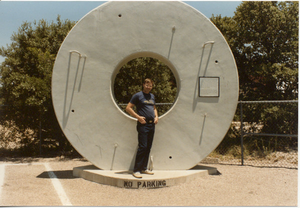1985 Kitt Peak 4 meter mirror sim