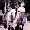 1954 Bob Pat on horseback