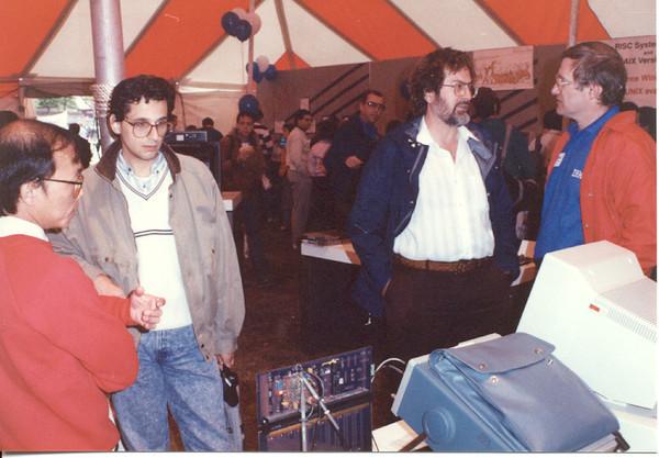 1990 U of MN disco Bob and Floyd