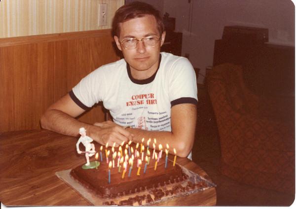 1983 - Bob at 37th birthday
