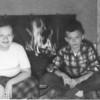 1957 - Christmas photo