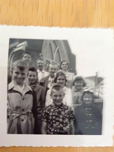 1956 All Saints Episcopal Sunday School Class