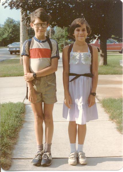 1984 - School starts again