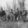 1940 Rowe and hunting buddies