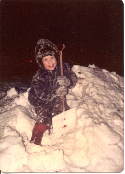 1977 - Scott in Snow