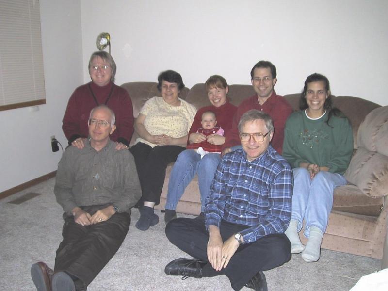 Thanksgiving 2003 at Sandees