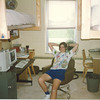1993 Sandee in dorm at SDSU