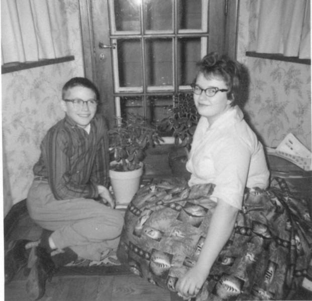 1959 - Christmas photo