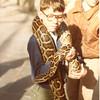 1984 - Scott with snake