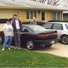 1996 - Scott, Jeanette, Oscar with new Saturn