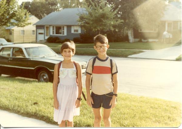 1983 - kids off to school